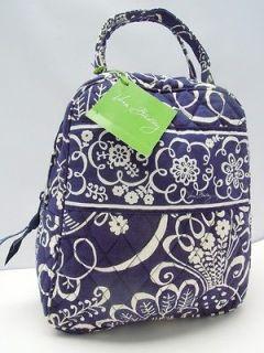Nwt VERA BRADLEY Lunch Bunch Bag Box or Cosmetic Case Twirly Birds