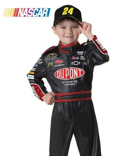 Kids Toddler Jeff Gordon Nascar Racecar Driver Halloween Costume