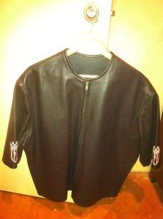 CFL WEST COAST CHOPPERS BLACK XL SHORT SLEEVE RIDING JACKET