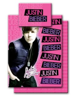 JUSTIN BIEBER BEDDING TWIN  DUVET COVER/FITTED SHEET /PILLOW CASE/ 3PC