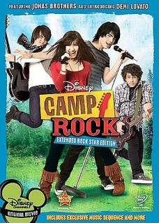 Camp Rock DVD, 2008