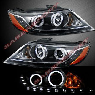 HEADLIGHTS w/LED PARKING FOR 2011 2012 KIA SORENTO (Fits Kia Sorento