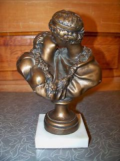 1967 Austin Productions Roman Greek Man and Woman Kissing Statue on