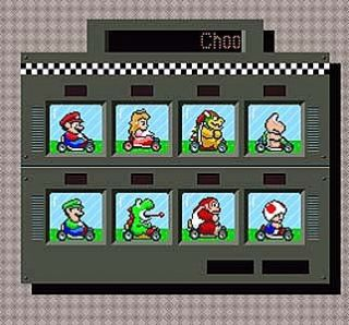 Super Mario Kart Super Nintendo, 1992