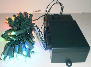Bethlehem Lights Battery Op. 50ct LED Light Strand with Color Change