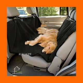 BACK CAR SEAT COVER PROTECTOR Pet Dog Cat BLANKET Hammock BLACK D179