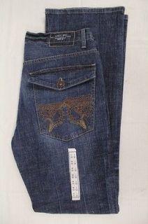 CALVIN KLEIN Mens Medium Wash Slim Boot Jeans MF48A38 J17947 Size
