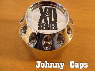 XD Series Wheels Chrome Custom Wheel Center Caps #846L215 (1)
