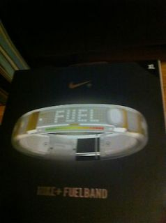 Newly listed NIKE FUEL BAND WHITE ICE XL EXTRA LARGE DIGITAL WATCH