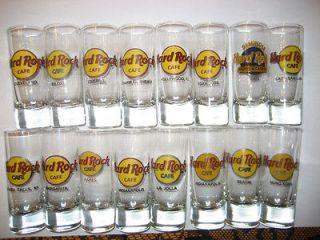 hard rock cafe shot glass in Entertainment Memorabilia