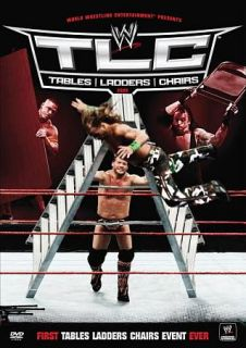 WWE TLC   Tables, Ladders and Chairs 2009 DVD, 2010