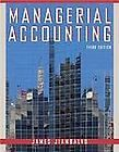 Managerial Accounting by James Jiambalvo 2006, Hardcover, Revised