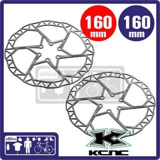 kcnc razor stainless disc brake rotor mtb 160 73g 2pc from taiwan time