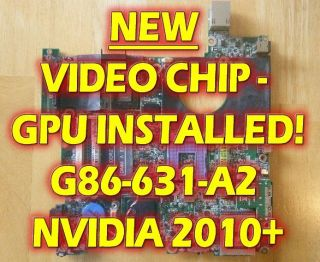 DELL INSPIRON 1420 MOTHERBOARD LAPTOP NEW NVIDIA VIDEO CHIP