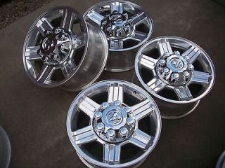 17 DODGE RAM 2500 3500 POLISHED LARAMIE FACTORY OEM WHEELS RIMS
