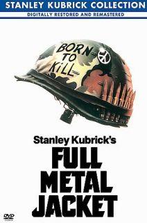 full metal jacket dvd 2001 stanley kubrick collection returns not