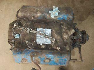 454 chevy chevrolet engine long block boat motor big block