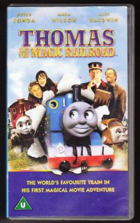 thomas and the magic railroad tank engine vhs pal time left $ 3 19 buy