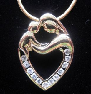 mother child necklace in Jewelry & Watches