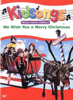 Kidsongs   We Wish You a Merry Christmas DVD, 2002