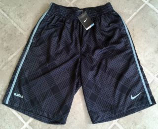 Nike Lebron James Allover Mens Basketball Workout Shorts S M L XL XXL