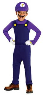 child deluxe super mario bros waluigi costume more options size