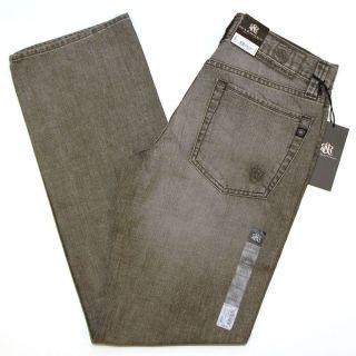 Rock & Republic Jeans Slate Straight Leg Neil Dark Gray Grey R510226