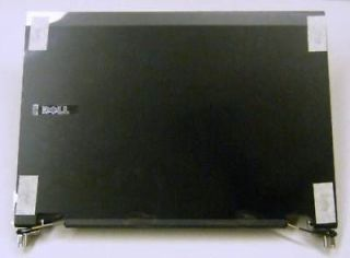 dell latitude e5400 lcd back cover w hinges rm629 b