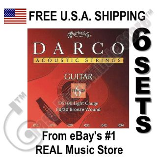 martin acoustic guitar strings in Parts & Accessories