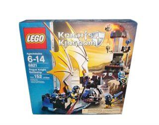 Lego Castle Knights Kingdom II Rogue Knight Battleship 8821