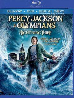 Percy Jackson the Olympians The Lightning Thief Blu ray DVD, 2010, 2