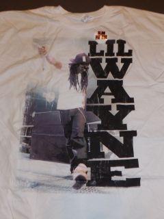 LIL WAYNE Vertical T Shirt **NEW band concert tour music 3XL XXXL Slim