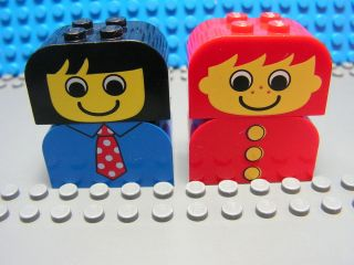 Lego Minifigure Toddler Fabuland People Brick Exc Cond #2 RARE 16B