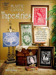 Plastic Canvas Pattern Book TAPESTRY / TAPESTRIES Wall Hangings