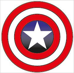 captian america shield decal vinyl sticker car marvel s  3