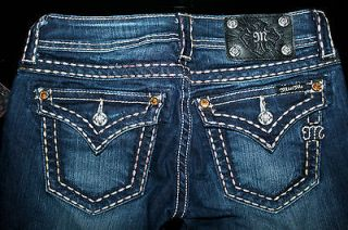 108 MISS ME BIG YELLOW RHINESTONES SKINNY JEANS