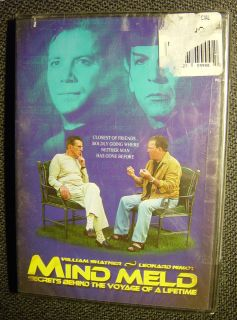 Mind Meld William Shatner Leonard Nimoy (sealed) STAR TREK