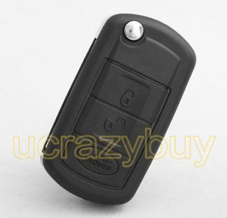 Remote KEY FOB Case SHELL for Land Rover (Fits More than one vehicle