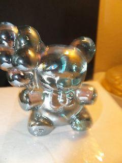 BOYD CRYSTAL ART GLASS PATRICK BALLOON BEAR MINT JULIP CARNIVAL 1995