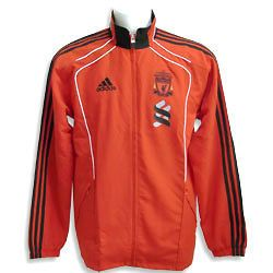 New Adidas Liverpool Red Presentation Tracksuit Jacket FREE P & P to