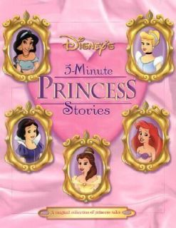Minute Princess Stories by Liza Baker 2001, Hardcover