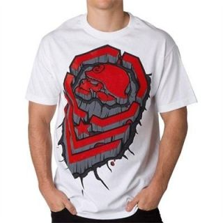 metal mulisha pound t shirt white clothing mens fmx motox