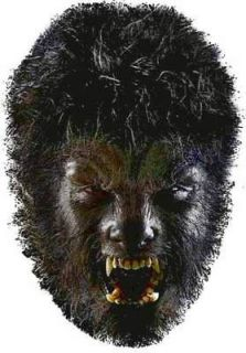 The WOLFMAN Universal Monster Big Head Werewolf Window Cling Decal