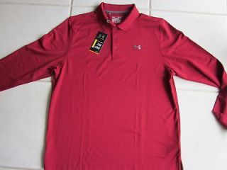 under armour long sleeve polo in Clothing,