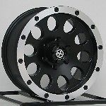 15 inch Black Wheels Rims Nissan Toyota Pickup Truck Isuzu Chevy GMC