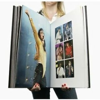 SALE Brand New The Official Michael Jackson Opus [Leather Bound] w