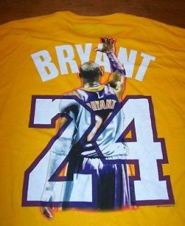 los angeles lakers kobe bryant nba t shirt 2xl new