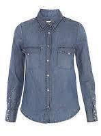 isabel marant luana denim shirt sz 2 or 3 collectors item