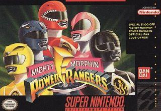 Mighty Morphin Power Rangers Super Nintendo, 1994
