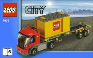 Newly listed LEGO CITY TRAIN TRUCK + CONTAINER + FIGURE MINT 7939